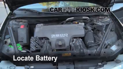 1998 Oldsmobile Intrigue GL 3.8L V6 Battery Replace